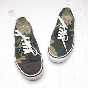 Vans | Camo Print Sneakers